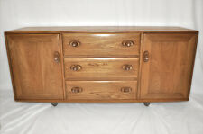 Vintage retro 60's Ercol ercol windsor sideboard side cabinet cupboard mdl 455