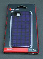 Griffin Mesh Ups Case iPhone 5 Purple Black Shell NEW GB35947 cover protective
