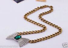 Luxury Bow Tie Pendant Vintage Necklace