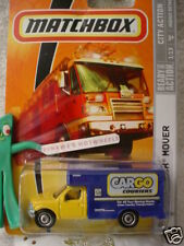 2009 Matchbox #41 MBX MOVERS☆Yellow & blue truck☆Cargo Couriers