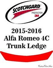 3M Scotchgard Paint Protection Film Clear Bra Pre-Cut 2015 2016 Alfa Romeo 4C