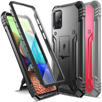 Poetic Shockproof For Galaxy A71 5G Case,Full Coverage Protective Stand Cover