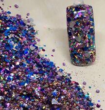 glitter mix acrylic gel nail art    GLITZZ