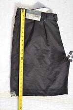 NEW Men's Cremieux Dressy Short Pant Bermuda Black Pleated Sz 40 Spring SALE