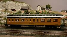 Roundhouse MDC HO Rio Grande Old Time 50' Palace Business Car Upgraded EX