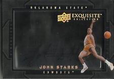 John Starks 11/12 Exquisite Collection Dimensions Autograph