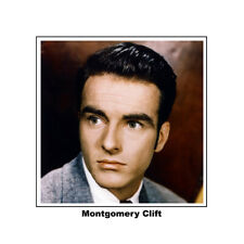 Montgomery Clift handsome 1940's 8x10 portrait photo