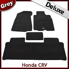 Honda CRV Manual 2002 2003 2004...2006 Tailored LUXURY 1300g Car Mats GREY