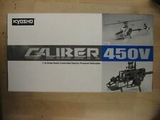 KYOSHO CALIBER 450 BRAND NEW IN BOX!