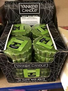 Yankee Candle Box Of 24 Wax Melts Halloween Forbidden Apple Rare Hard To Find
