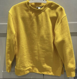 Topshop Yellow Sweatshirt Size XS S Fits 8 10 12