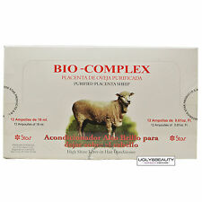 Bio Complex Placenta De Oveja Purificada Purified Placenta Sheep 12 Applications