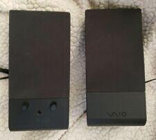 ORIGINAL SONY VAIO SPEAKERS MODEL VGP-SP3 120V  80mA  60 Hz. TESTED.