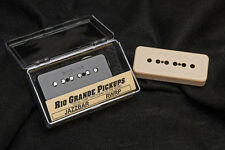 Rio Grande Jazzbar P-90 Pickup RWRP Black or Creme Worldwide Shipping