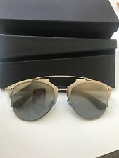 *NEW AUTHENTIC* DIOR REFLECTED/S 085L ,DC SUP SILVER MIRROR LENS