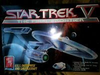 AMT / ERTL U.S.S. ENTERPRISE PLASTIC MODEL KIT, STAR TREK V, 1989, SEALED NIB