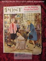 SATURDAY EVENING POST June 20 1959 JOHN FALTER INGEMAR JOHANSSON KEN W. PURDY