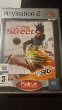 FIFA STREET platinum pal Sony Playstation 2 ps2 game console ps gioco ronaldino