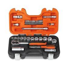 """Bahco S330 3/8"""" Drive Metric Socket & 1/4"""" Bit Set 34 Pce Dynamic Drive & Case"""