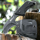 """Full Tang 4"""" Tactical Knife Kydex Sheath G10 Handle Camping Knife Survival Knife"""