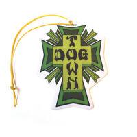Dogtown Skateboards Air Freshener Cross Logo Green (Cherry Scent)