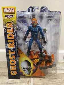 Diamond Select / Marvel Select ~ GHOST RIDER ~ +3 FREE Comic Books w/ Purchase