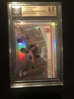Pete Alonso 2019 Topps Chrome #475⚾⚾BGS 9.5⚾⚾Variation Refractor⚾⚾Rookie Card RC
