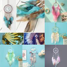 Dream Catcher Lace Bead Feather Net Handmade Dreamcatcher Home Car Hanging Decor