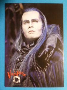 "Thomas Borchert (Graf v. Krolock), Karte Musical ""Tanz der Vampire"" (unsigniert)"