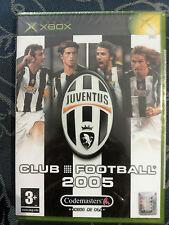 JUVENTUS FOOTBALL CLUB 2005 SIGILLATO XBOX  ITALIANO