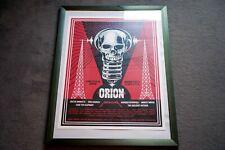 OBEY - Orion Festival 2012 - Original Print - Metallica