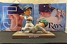 """Matt Duffy Tampa Bay Rays """"Turning Two"""" Bobblehead NIB SGA"""