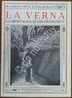 Le cento città d'Italia illustrate - n° 165 - La Verna - San Francesco