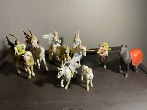 Schleich Germany Lot of 13 Pieces Fairy & Horse Animal Rare Fairies