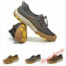 Men Breathable Mesh Shoes Lace Up Casual Wading Shoes Beach Sneakers Outdoor Sz