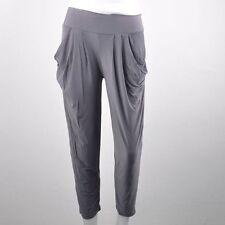 Gris Activewear corto largo 1 Size Ice seda mujer pantalones, regalo de Navidad