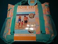 HIGH TIDE COLLECTION 3 IN 1 ULTIMATE TOTE SET WITH LOUNGE COVER