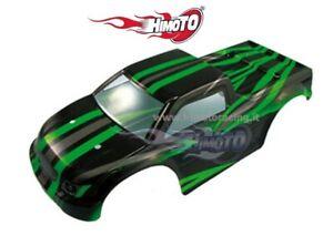 31805 Bodywork Black/Green Models Off Road Truck 1/10 E10MT Parts HIMOTO 1P