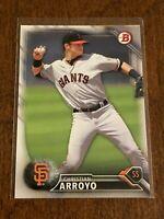 2016 Bowman Prospects Baseball Base - Christian Arroyo - San Francisco Giants