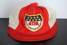 VTG Ladies Trucker Hat National Tractor Pullers Association NTPA Patch Hipster