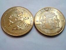 JUEGOS CENTROAMERICANOS CARIBE MAYAGUEZ 2010 Sociedad Numismatica Puerto Rico Bz