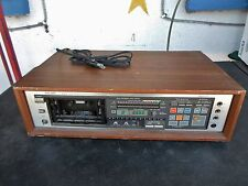 TEAC V-95RX AUTO REVERSE CASSETTE DECK W/DBX - FOR PARTS OR REPAIR - UNTESTED
