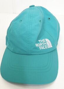 The North Face Hat Cap Clip Strap Aqua Green, Size Small excellent used