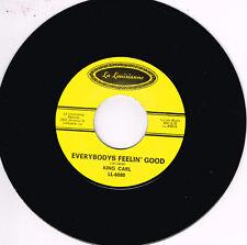 KING CARL – EVERBODYS FEELIN' GOOD / BLUES FOR MEN (Rhythm & Blues Stroller)