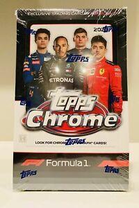 NOBUHARU MATSUSHITA 2020 TOPPS Chrome Formula 1 Racing 12 BOX DRIVER Break #55