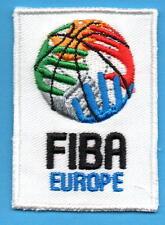 Mark, Label of FIBA Europe Basketball - 5 cm x 6,5 cm