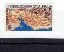 AFARS & ISSAS C53 mint never hinged AIR MAIL map 1968