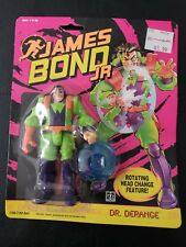 JAMES BOND JR. DR. DERANGE WITH ROTATING HEAD CHANGE FEATURE