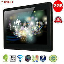 """2017 7"""" Inch Android 4.4 A33 Quad Core HDMI Dual Camera Wifi Tablet PC 8GB US"""