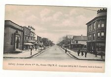 USA.OCEAN CITY. N.J. ASBURY AVENUE 1905.OLD PRINTED POSTCARD
